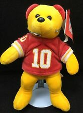 "Green 10 Bear NFL Washington Redskins Plush 8"" Team Beans Players Inc Toy"