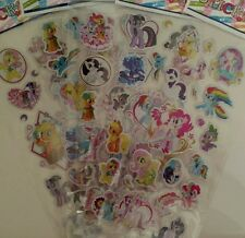 Cute my little pony puffy stickers