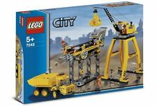 NEW Lego Town City 7243 CONSTRUCTION SITE Sealed Free USA Shipping