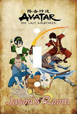 PERSONALIZED AVATAR THE LAST AIR BENDER LIGHT SWITCH PLATE COVER