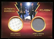 2016 Cryptozoic Flash Season 1 DUAL Wardrobe Costume DW4 Eddie Thawne Joe West