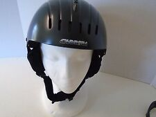 Carrera Outlast Ski Helmet M Medium Dark Gray Grey Temperature Regulation