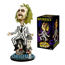 "8"" BEETLEJUICE figure EXTREME HEAD KNOCKER bobblehead MICHAEL KEATON neca 2011"