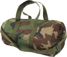 "WOODLAND CAMO 19"" Polyester Sports Gym Duffle Carry Shoulder Bag & Strap - 88555"