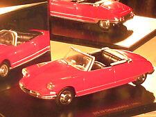 CITROEN DS 19 CABRIOLET 1961  / NIVERSAL HOBBY 2000