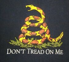 NRA logo T shirt large National Rifle Association firearms Don't Tread On Me tee