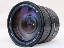 SUPERB SIGMA 28-200mm MINOLTA A/SONY ALPHA MOUNT AF ZOOM LENS - EXCELLENT!