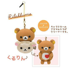 San-X Rilakkuma Phone Cleaner / Screen Cleaner [Rilakkuma & Korilakkuma] MP51101