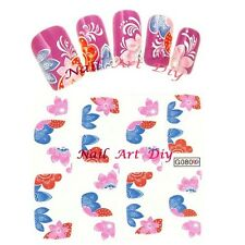 Nail Water Transfer Stickers-Adesivi-Unglie Naturale-Gel-Smalto/Semipermanente!!
