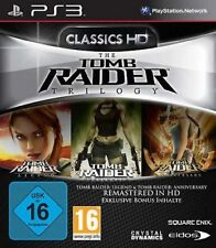 Playstation 3 TOMB RAIDER TRILOGY DEUTSCH Legend + Underworld + Anniversary Top