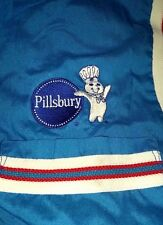 mens HILTON BOWLING shirt JERSEY large L pillsbury DOUGH boy MASCOT adult BUTTON
