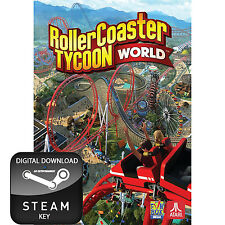 ROLLERCOASTER TYCOON WORLD PC STEAM KEY