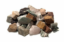 Stone tumbling Rock - 1kg MIXED Lapidary Rough Rock