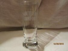 Vintage Southern Comfort Whiskey Shot Glass with Etched Logo