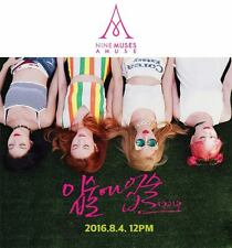 NINE MUSES A - Muses Diary (Mini Album) CD+Folded Poster with Tracking number