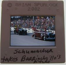 MICHAEL SCHUMACHER RUBENS BARRICHELLO FERRARI US GRAND PRIX ORIGINAL SLIDE 18