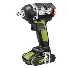RK2855K2 ROCKWELL 20V MaxLithium Brushless 3-Speed Impact Wrench