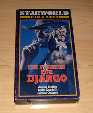 VHS - Ein Fressen für Django - Western - Starworld - Videokassette