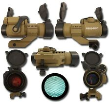MIRINO SOFTAIR RED DOT ALTO PROFILO NIDO APE DARK EARTH - CON KILL FLASH
