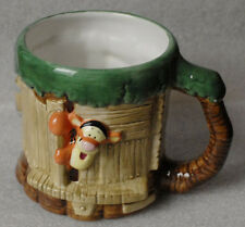 TIGGER Tree House TREEHOUSE large mug DISNEY Winnie The Pooh 3D raised jumbo
