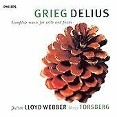 Delius / Grieg: Complete music for cello and piano (1998)•Record Label: Philips