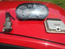 AUDI S3 (8LZ) QUTTARO 1.8 INSTRUMENT CLOCKS ECU AND IGNITION+KEY (8N0 906 018)