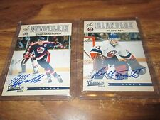 12/13 CLASSICS HOCKEY BILLY SMITH AUTOGRAPH CARD NM