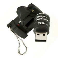 New Black Camera 4GB USB Flash Pen Drive Memory Stick Thumb OV