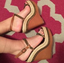100% Authentic Christian Louboutin Espradille Wedges (36)