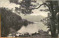 Irish Postcard INNISFALLEN Island Lakes KILLARNEY Ireland Lawrence Matte Photo