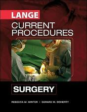 CURRENT Procedures Surgery (LANGE CURRENT Series), Doherty, Gerard, Minter, Rebe