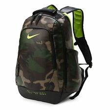 NIKE ULTIMATUM UTILITY GRAPHIC BLACK GREEN CAMO BACKPACK [BA5090-071]