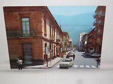 Vecchia foto cartolina d epoca di Nocera Inferiore Corso Garibaldi strada bar