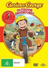 Curious George: Outdoor Adventures NEW R4 DVD