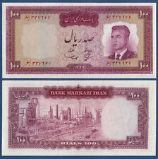 PERSIEN / PERSIA  100 Rials (1963)  Schah Pahlavi  UNC  P.77