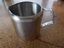 Vtg SUNNEX Retro Stainless Steel milk jug 0.3 litre B&B Catering Cafe Restaurant