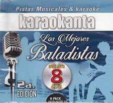 Braulio Camilo Sesto Ricardo Arjona Los Mejores Baladistas 2a Edicion8CD Karaoke