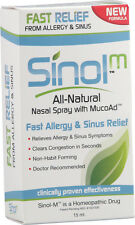 Allergy Relief & Sinus Relief Spray, Sinol, 15 ml