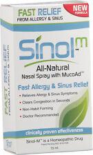 Allergy Relief & Sinus Relief Spray, Sinol, 15 ml