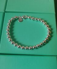 Ball Bracelet / Bangle / anklet 925 Stamped Silver lady men girl friend gift +bg