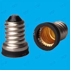 Small Screw SES E14 To Candelabra CES E12 Light Bulb Adaptor Converter Holder