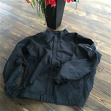 Worn Once FootJoy DryJoys Men's Rain Jacket Black Size Large Golf $220