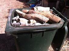 Wheelie Bin of Mixed Gum Firewood - Adelaide