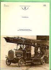 #D106. PICTURE OF FIRE ENGINE NSW 1930s