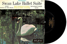 "BERLIN SYMPHONY ORCH - SWAN LAKE BALLET - EP 7"" 45 VINLY RECORD 1960s"