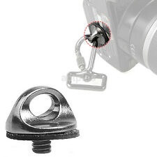 Portable 1/4 Inch Screw Adapter Connecting For Camera Shoulder Sling Strap Hot