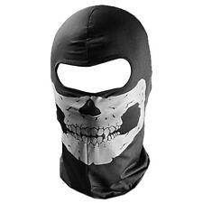 Skull balaclava Ghost Ski Face mask Skeleton Paintball Airsoft Head Protect New