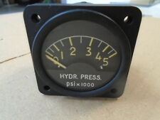 1 EA NOS JAEGER HYD. PRESSURE INDICATOR FOR VARIOUS AIRCRAFT P/N 1.1055-AA/A