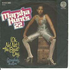 7'Marsha Hunt   The Beast Day/Somebody..  KILLER PSYCH FUNK SWIRL VERTIGO