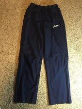 ASICS Blue MENS Athletic TRACK PANTS Gym Running Mesh Lined MEDIUM Kd6